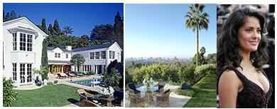 Salma Hayek compra villa da 20 milioni di dollari vicini di casa Renee Zellweger e Jack Nicholson