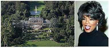 La straordinaria villa da 50 milioni di dollari di Oprah Winfrey a Santa Barbara