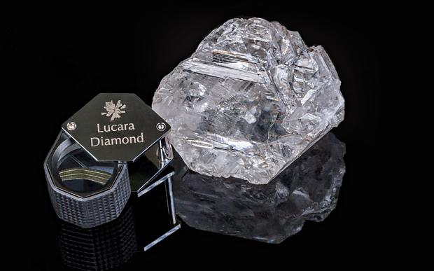 Diamante di eccezionali dimensioni scoperto in Botswana
